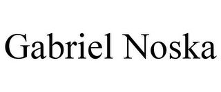 mark for GABRIEL NOSKA, trademark #85793579