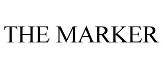 mark for THE MARKER, trademark #85794135