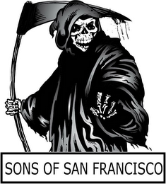 mark for SONS OF SAN FRANCISCO, trademark #85794307