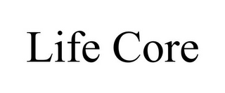 mark for LIFE CORE, trademark #85794386