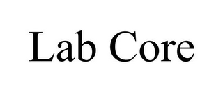 mark for LAB CORE, trademark #85794518