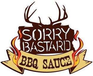 mark for SORRY BASTARD BBQ SAUCE, trademark #85794520