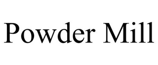 mark for POWDER MILL, trademark #85794574