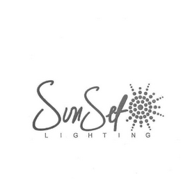 mark for SUNSET LIGHTING, trademark #85794871