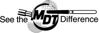 mark for SEE THE MDT DIFFERENCE, trademark #85794893
