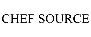mark for CHEF SOURCE, trademark #85794908