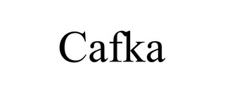 mark for CAFKA, trademark #85794925