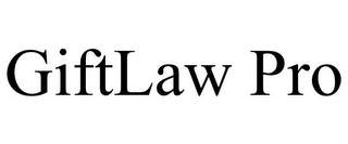 mark for GIFTLAW PRO, trademark #85795152