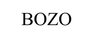 mark for BOZO, trademark #85795582