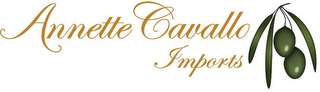 mark for ANNETTE CAVALLO IMPORTS, trademark #85795648