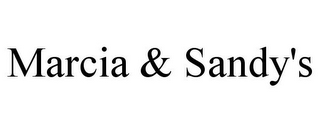 mark for MARCIA & SANDY'S, trademark #85795676