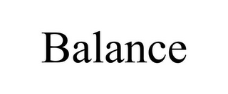 mark for BALANCE, trademark #85795780