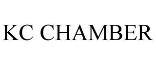 mark for KC CHAMBER, trademark #85795914