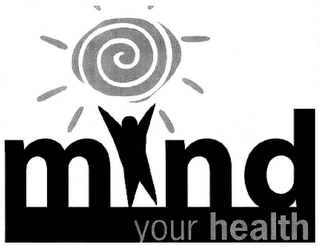 mark for MIND YOUR HEALTH, trademark #85796037