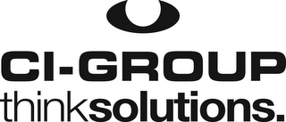 mark for CI-GROUP THINKSOLUTIONS., trademark #85796063