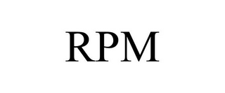 mark for RPM, trademark #85796168