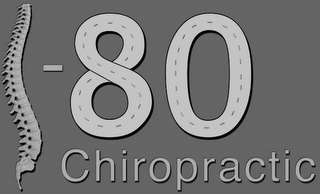 mark for I-80 CHIROPRACTIC, trademark #85796184