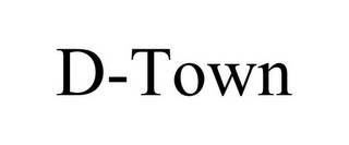 mark for D-TOWN, trademark #85796532
