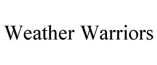 mark for WEATHER WARRIORS, trademark #85796563