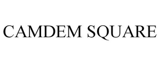 mark for CAMDEM SQUARE, trademark #85796865