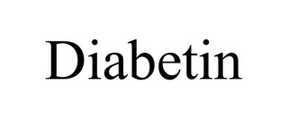 mark for DIABETIN, trademark #85797003