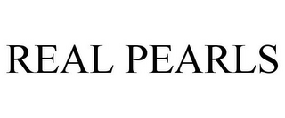 mark for REAL PEARLS, trademark #85797062