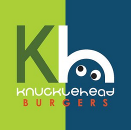 mark for KH KNUCKLEHEAD BURGERS, trademark #85797101