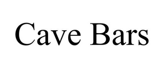 mark for CAVE BARS, trademark #85797134