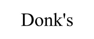 mark for DONK'S, trademark #85797213