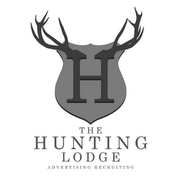 mark for H THE HUNTING LODGE ADVERTISING RECRUITING, trademark #85797316