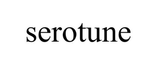 mark for SEROTUNE, trademark #85797322
