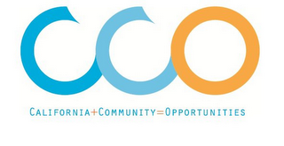 mark for CCO CALIFORNIA+COMMUNITY=OPPORTUNITIES, trademark #85797343