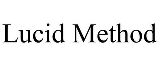 mark for LUCID METHOD, trademark #85797345