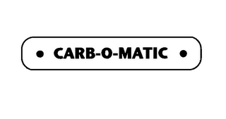 mark for CARB-O-MATIC, trademark #85797398