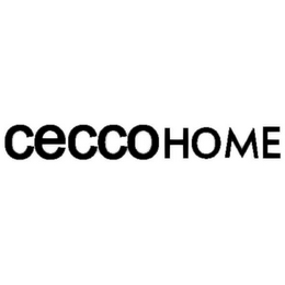 mark for CECCOHOME, trademark #85798134