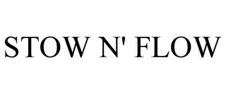 mark for STOW N' FLOW, trademark #85798390