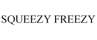 mark for SQUEEZY FREEZY, trademark #85798948