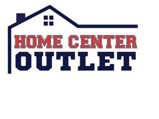 mark for HOME CENTER OUTLET, trademark #85799115