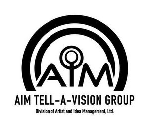 mark for AIM TELL-A-VISION GROUP DIVISION OF ARTIST AND IDEA MANAGEMENT, LTD., trademark #85799529