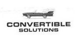 mark for CONVERTIBLE SOLUTIONS, trademark #85799588