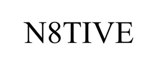 mark for N8TIVE, trademark #85799745