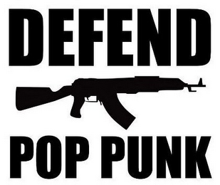 mark for DEFEND POP PUNK, trademark #85799792