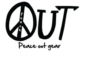 mark for PEACE UT PEACE OUT GEAR, trademark #85799854