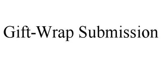 mark for GIFT-WRAP SUBMISSION, trademark #85800137