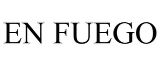 mark for EN FUEGO, trademark #85800157