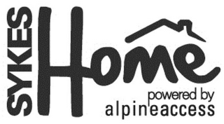 mark for SYKES HOME POWERED BY ALPINE ACCESS, trademark #85800168