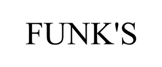mark for FUNK'S, trademark #85800600