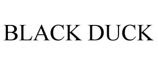 mark for BLACK DUCK, trademark #85800749