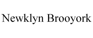 mark for NEWKLYN BROOYORK, trademark #85801286