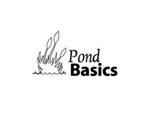 mark for POND BASICS, trademark #85801295